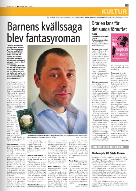 Artikel i Norra Skåne idag.